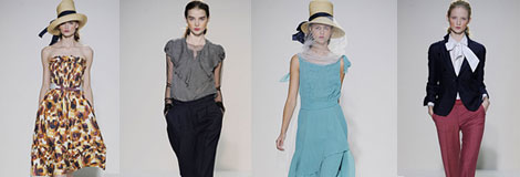 Nicole Farhi at London Fashion Week