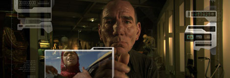 Pete Postlethwaite in The Age of Stupid