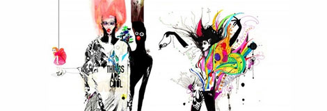 Fashion illustrations by Naja Conrad Hansen