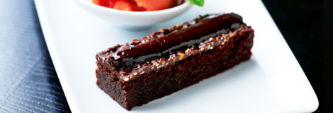 Chinese chocolate brownie