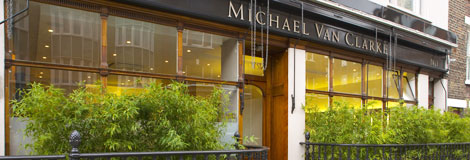 Michael Van Clarke salon, Marylebone
